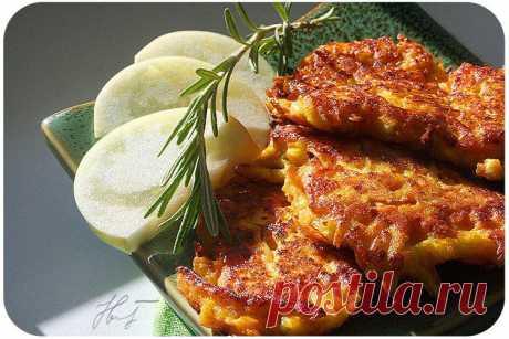 Юляшкина кухня - Тыквено-яблочные сырники