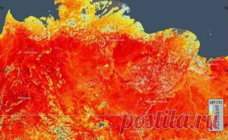 Северный полярный круг регистрирует рекордную температуру Глобальное потепление. Ученые на метеостанции в Сибири зарегистрировали экстремальную температуру для области 38 ° C (100,4 ° F).