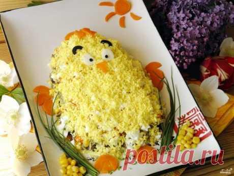 Пасхальный цыпленок - пошаговый рецепт с фото на Повар.ру