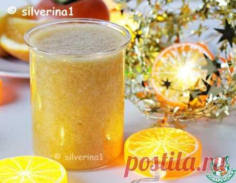 Смузи с хурмой и апельсином – кулинарный рецепт