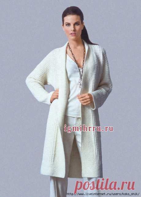 Вязание спицами - Три пальто спицами
