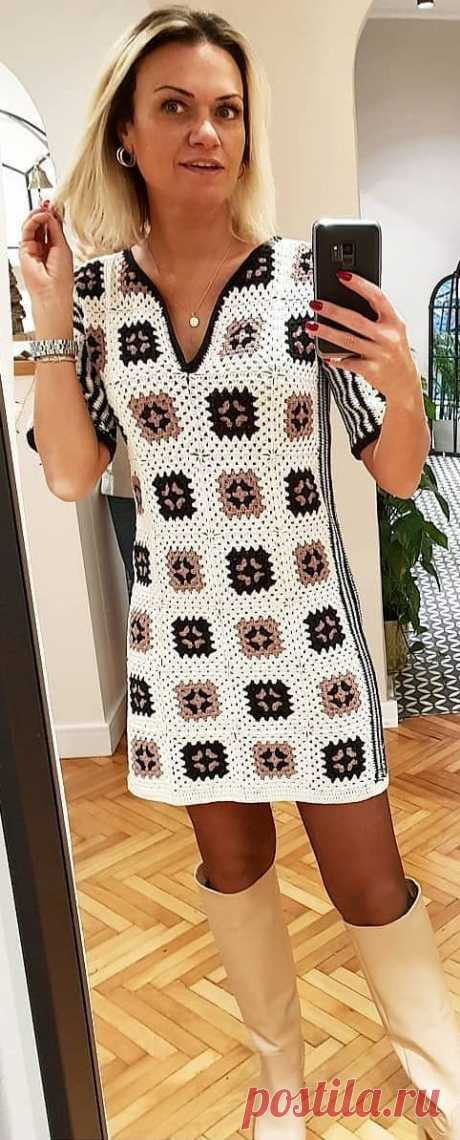 63+ Cute and Stylish Crochet Dresses Pattern Ideas For Summer - Page 39 of 63 - Women Crochet Blog