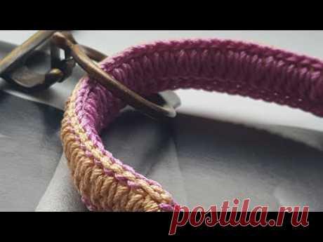 Идея для вязания ручки для сумки🌶 | Asha. Вязание и дизайн.🌶Сонник. | Яндекс Дзен