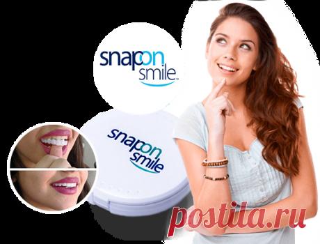 Snap-On Smile | Съемные виниры для красивой улыбки