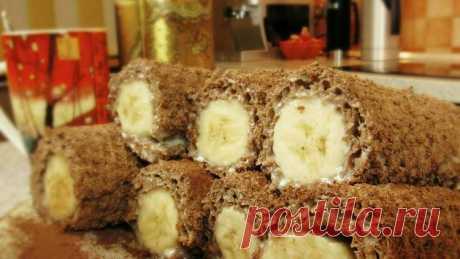 Банановый десерт без выпечки - Простые рецепты Овкусе.ру