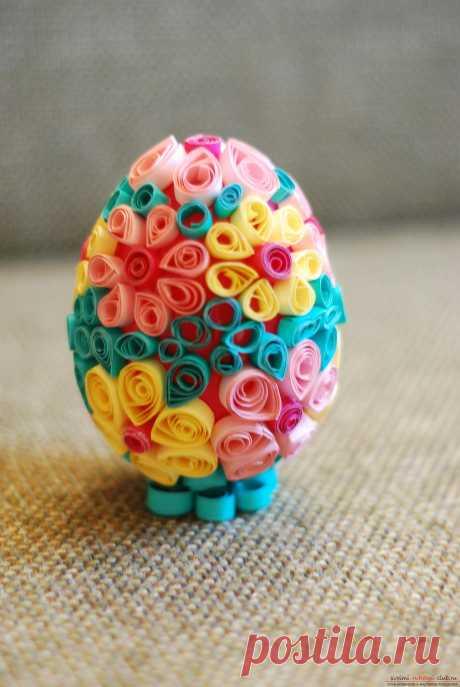 Пасхальный квиллинг: идеи декорирования пасхальных яиц