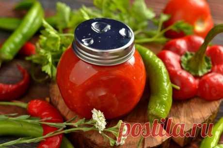 Домашний томатный кетчуп чили. Пошаговый рецепт с фото — Ботаничка.ru