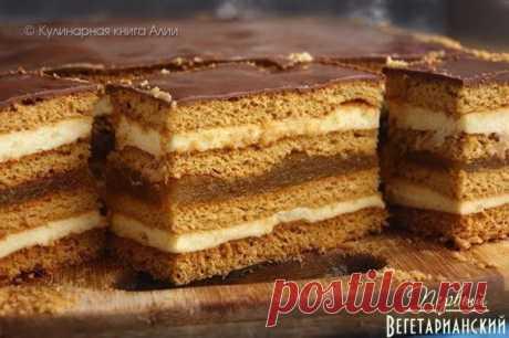 Медовое пирожное с начинкой | Наша кухня - рецепты на любой вкус!