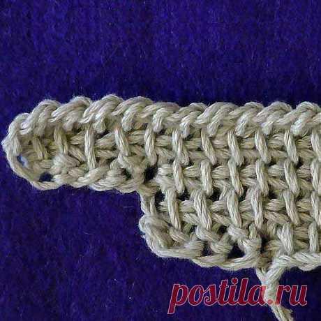 Прибавление петель по левому краю без дополнительной нитки (вязание крючком, видео)