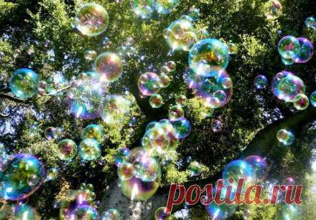 Как сделать домашние мыльные пузыри