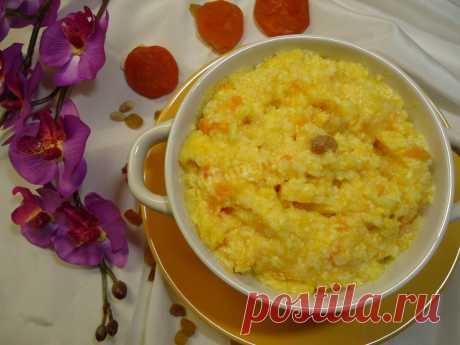 Каша Пшённая с тыквой в мультиварке рецепт с фото пошагово - 1000.menu