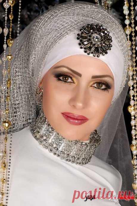 لفات طرح تاخد العقل للعروسة المحجبة 2020