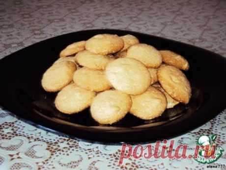 """Взбитое печенье """"Монетки"""" - кулинарный рецепт"""