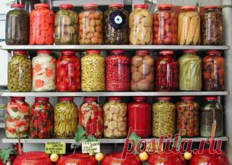 Советы хозяйкам при консервировании