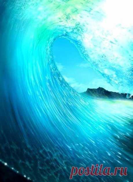 Я в тебя с головой окунусь и от бриза морского проснусь...(с) / Необычные поделки