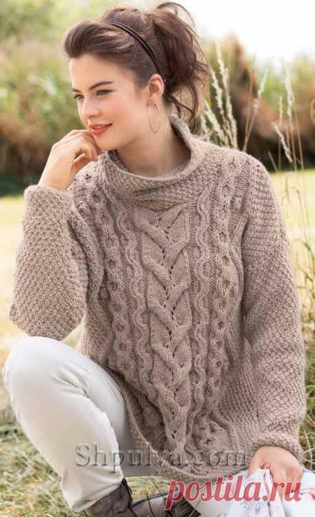 Beige pullover from arana - SHPULYA.com