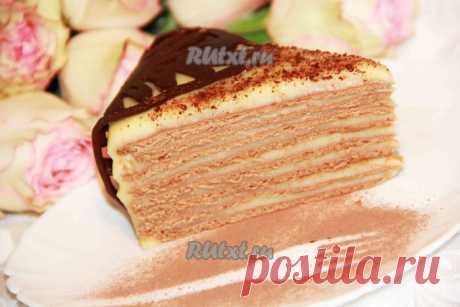 """Торт """"Крем-брюле"""" - совершенно потрясающий,тающий на языке"""