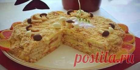 Изумительно вкусный ленивый наполеон, тортик, который можно приготовить очень быстро! Рекомендую!