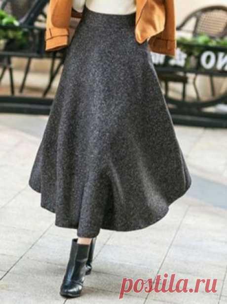 "Как сшить юбку ""Фунтик"" | модница | Яндекс Дзен"