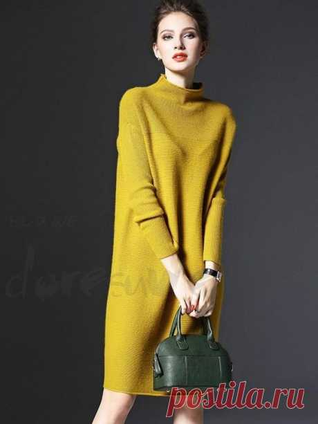 Классная подборка для истинных стиляг — тёплые платья на осень » MAKATAKA