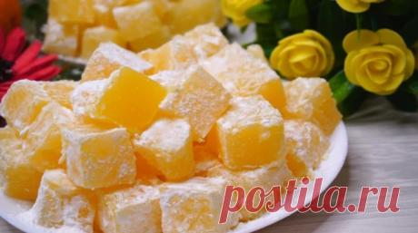 Очень вкусные конфеты рахат лукум за 15 минут практически из ничего!