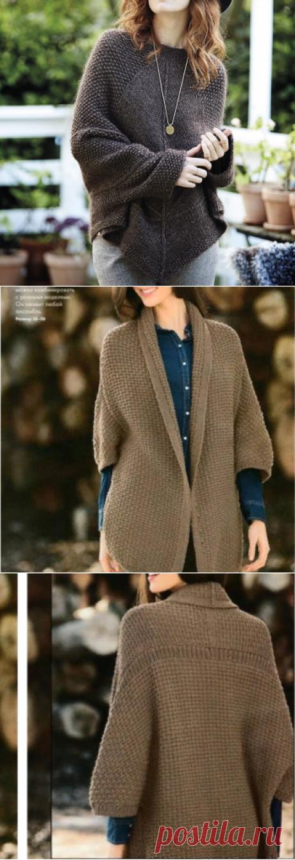 Простые узоры = интересные изделия. Вязание спицами | Марусино рукоделие | Яндекс Дзен