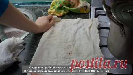 Супер - отстирывание полотенец. Отбелить кухонные полотенца. быстро и легко