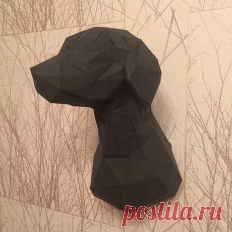 Схема сборки оригами собаки - инструкция как сделать поделку своими руками