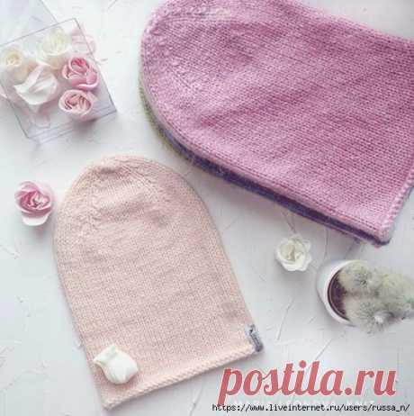 Шапка-бини от maria.leonova_knit.