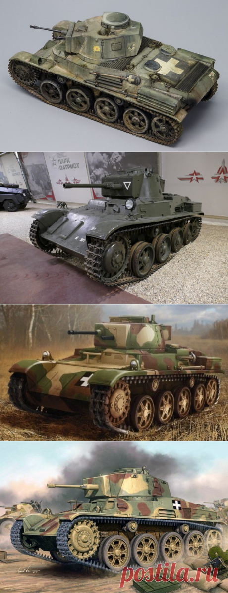 Венгерский легкий танк 38.m Toldi — archivetechburo.ru