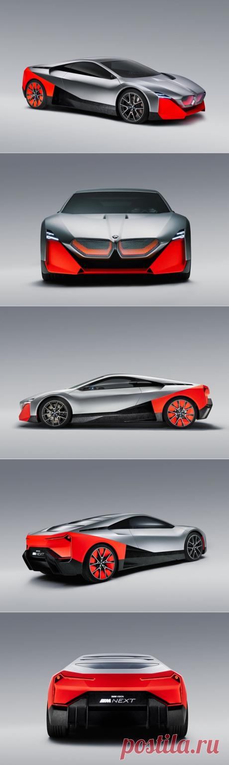 Спортивный прототип BMW Vision M Next