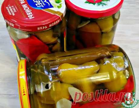 Перец горький маринованный – кулинарный рецепт