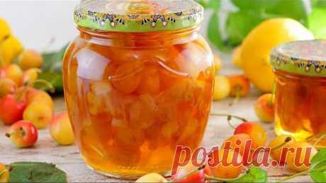 Янтарное варенье из желтой (белой) или розовой черешни с лимоном на зиму!