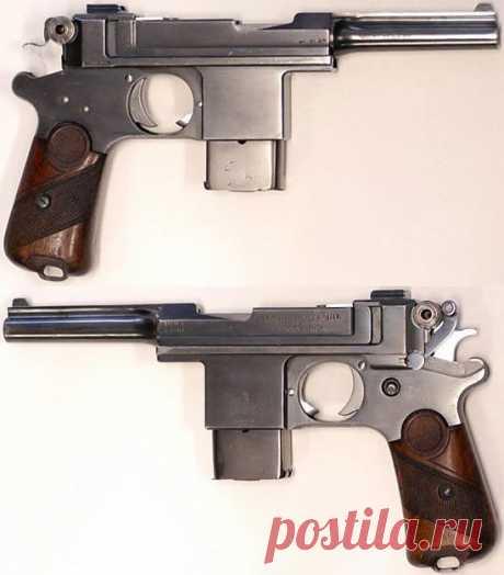 Пистолет Bergmann Bayard / M 1908 / M 1910 | Энциклопедия оружия