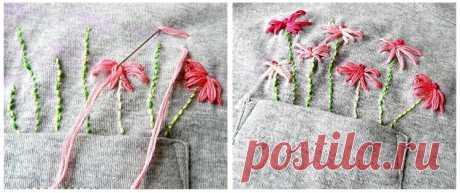 Как вышивать на одежде нитками: 12 шагов к безупречности