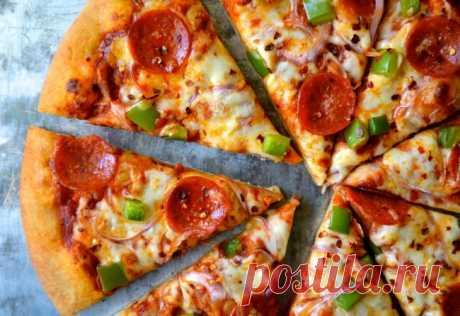 3 recetas rápidas de la pizza apetitosa