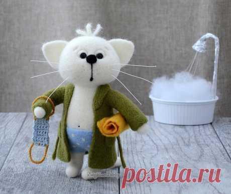 Очаровательные валяные игрушки от elena covert — Сделай сам, идеи для творчества - DIY Ideas