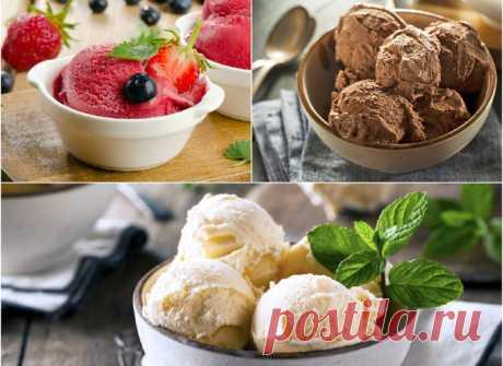 Домашнее мороженое из молока: лучшие рецепты
