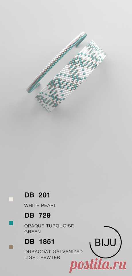Peyote bracelet pattern peyote pattern odd count stitch | Etsy