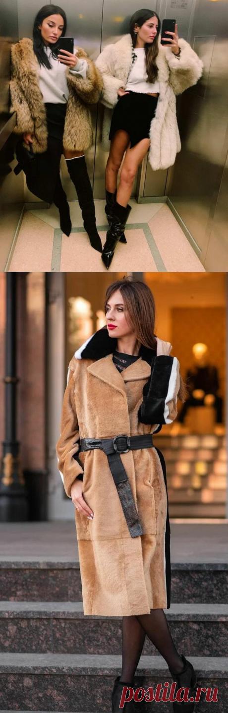 Самые модные шубы зима 2021-2022