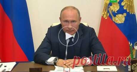 11.05.2020-Путин заявил о новом пакете мер поддержки граждан и экономики — РТ на русском