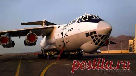Фото Ilyushin Il-76 (UPI7601) ✈ FlightAware
