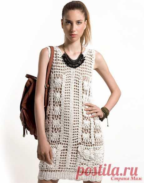 Платье крючком от Diane Von Furstenberg.