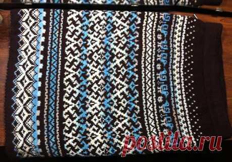 юбка -перуанка | Вязание для женщин спицами. Схемы вязания спицами