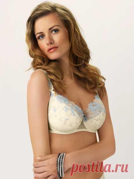 Купить Бюстгальтер Lazurite ll 12863, Ваниль по цене 3 886 руб. в интернет магазине 100 блондинок