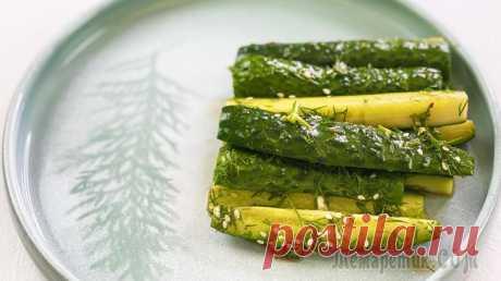 Битые огурцы - закуска-салат из огурцов по-китайски