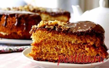 Медовый бисквитный торт. Прямо тает во рту Нежнейший медовый бисквит — он прямо тает во рту, его можно есть...
