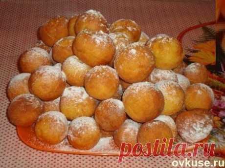 Пончики из творога - Простые рецепты Овкусе.ру