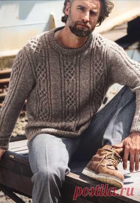 Джемпер, в котором все хорошо: и цвет, и качество вязания, и рисунок не избитый.