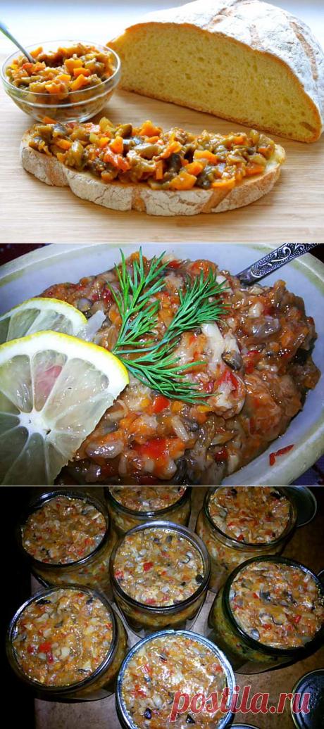 Лучшие рецепты грибной икры на зиму